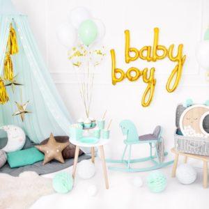 Decoration baby shower garcon