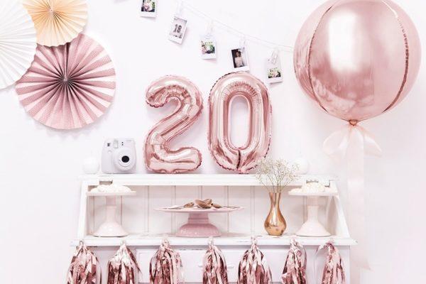 Decoration anniversaire 20 ans