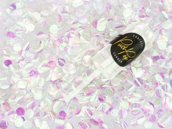 confettis irisé