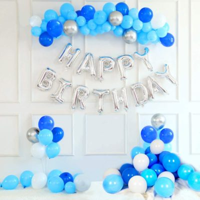 ecoration anniversaire garcon bleu